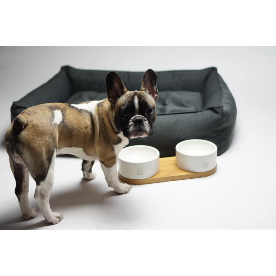 Antraciet Hondenbed Töve van Labbvenn