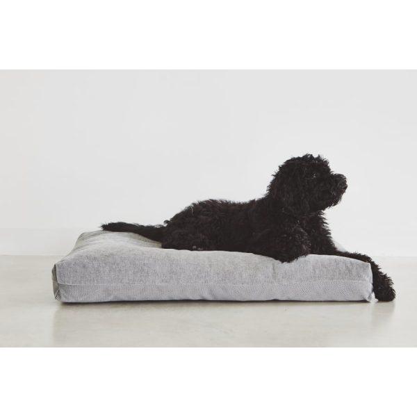Fluweel Grijs hondenkussen Duo van MiaCara