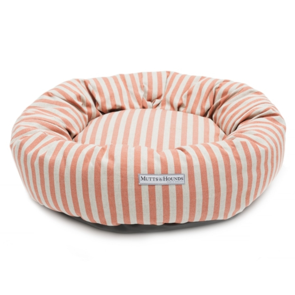 Orange Stripe Hondenbed van Mutts & Hounds