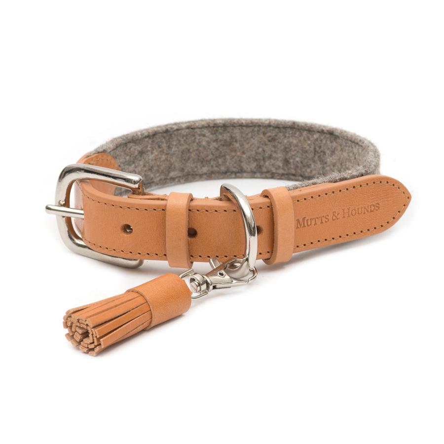 Trendy Camello tassel clip van Mutts & hounds