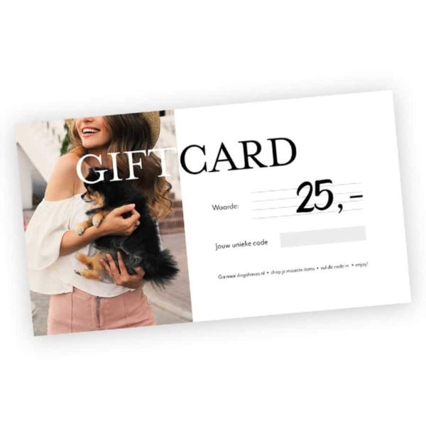 Giftcard Dogahaves 25