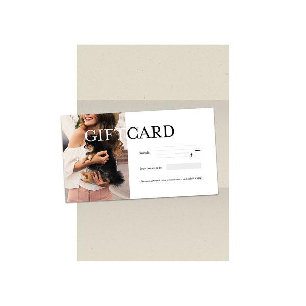 Giftcard Dogahaves cadeau hondenliefhebber
