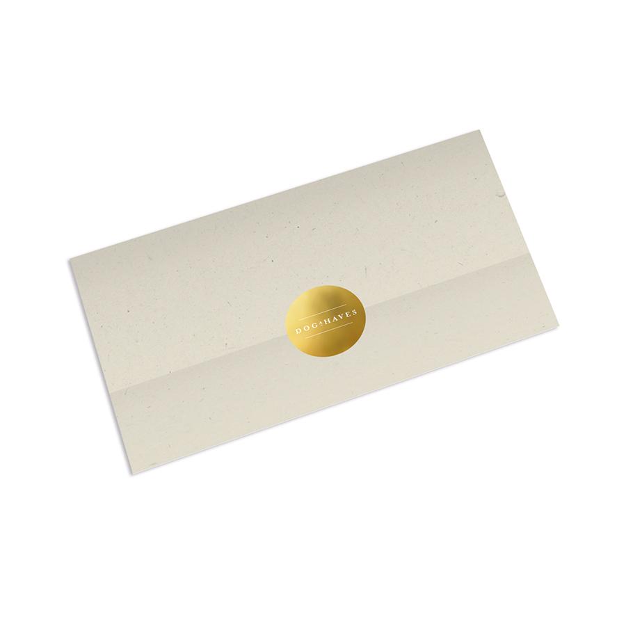 Giftcard Dogahaves met Zegel