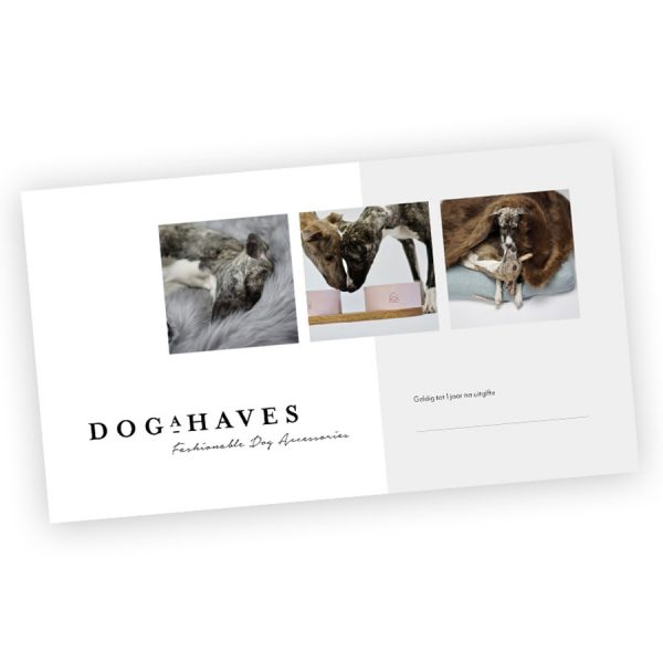 Giftcard cadeau Dogahaves