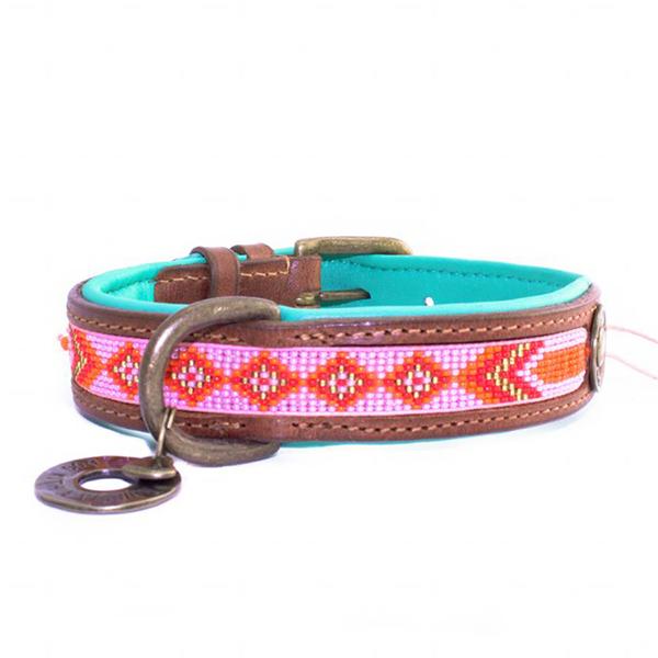 Leren hondenhalsband Sweet Mae