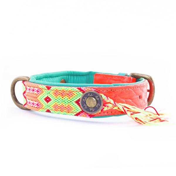 Ibiza Hondenhalsband Ginger-2,5cm zijkant