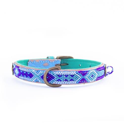 Ibizia hondenhalsband blue-2cm