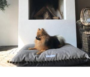 Mooie hondenmand botanical woonstijl 2