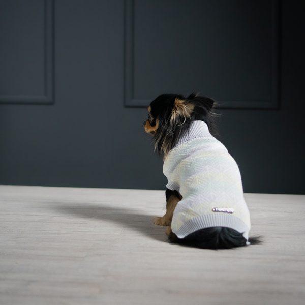 Pullo hondentrui Labbvenn grijs chihuahua