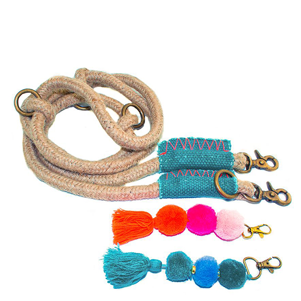 Ibiza hondenriem van touw binck van DWAM