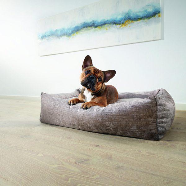 Franse bulldog luxe hondenmand classic allure laboni