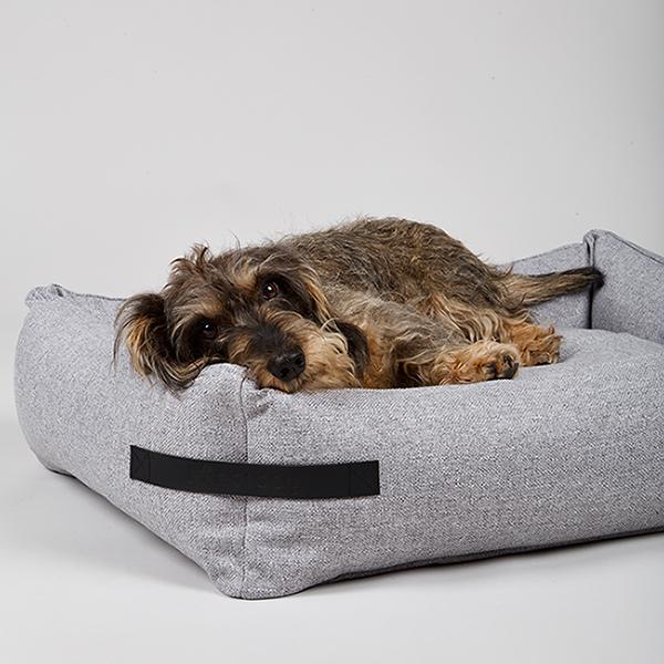 Orthopedische hondenmand teckel modern